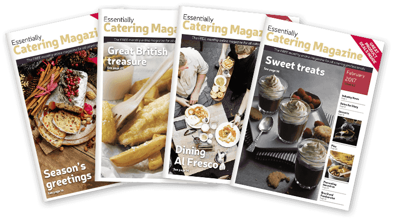 Essentially Catering Magazine covers