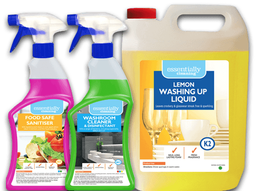 Essentially Cleaning products