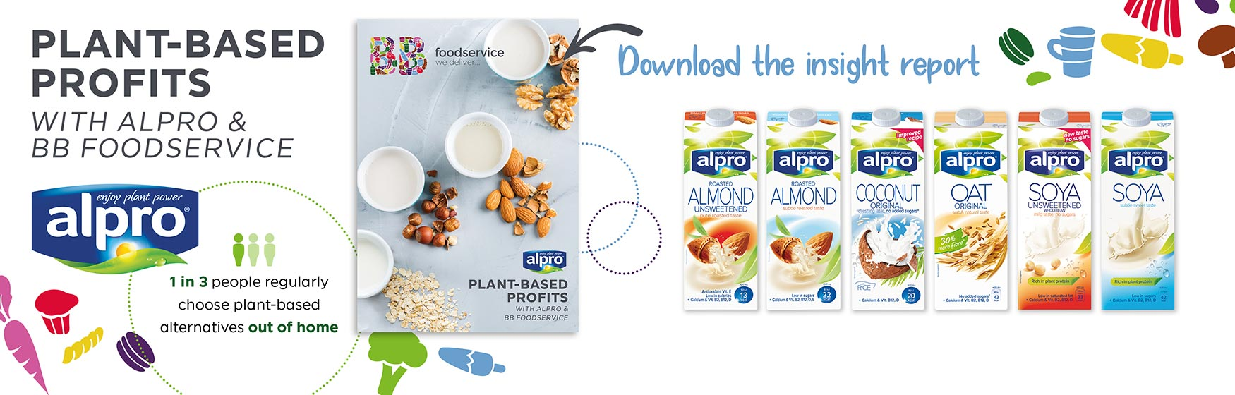 Plant-based profits with Alpro & BB Foodservice
