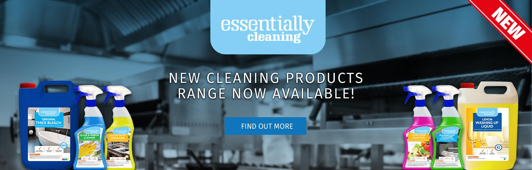 Essentially Cleaning new cleaning range