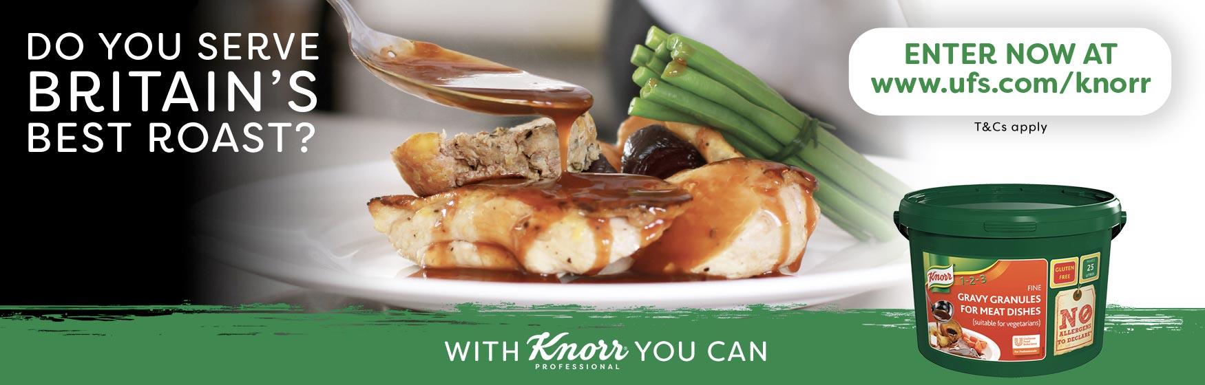 Knorr – do you serve Britain's best roast