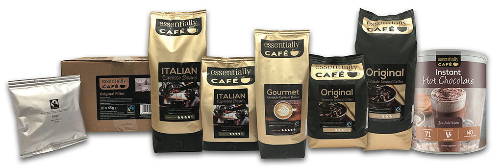 Essentially Café range