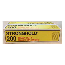 Strong Hold Bin Liners Yellow Box